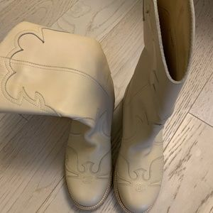 Chanel Cowboy Boots